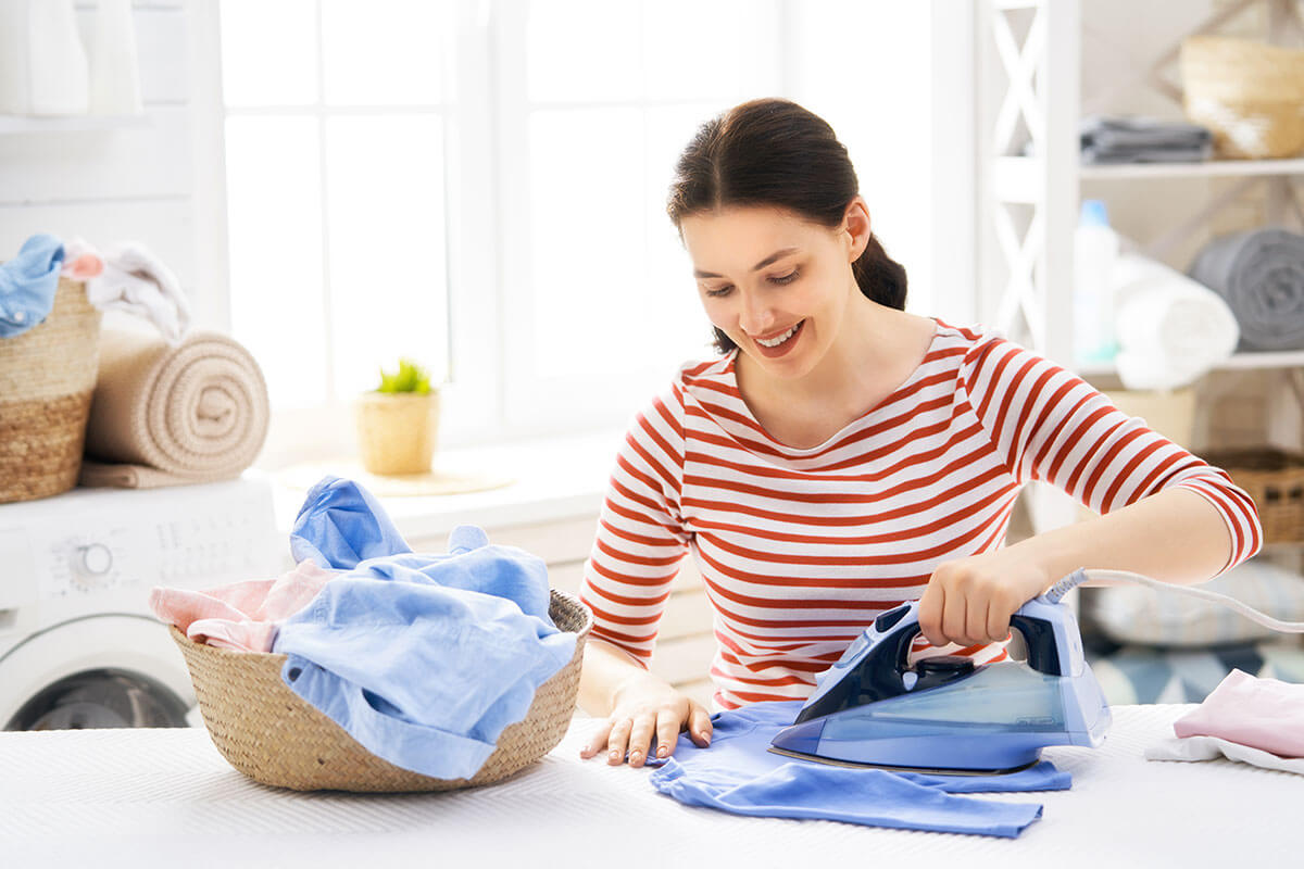 ironing and cleaning Alberta